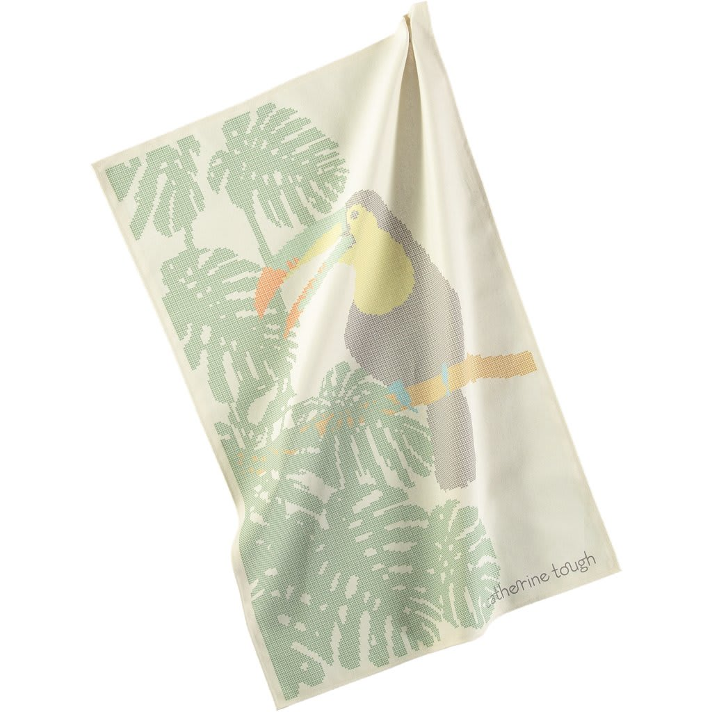 Catherine Tough Toucan Tea Towel