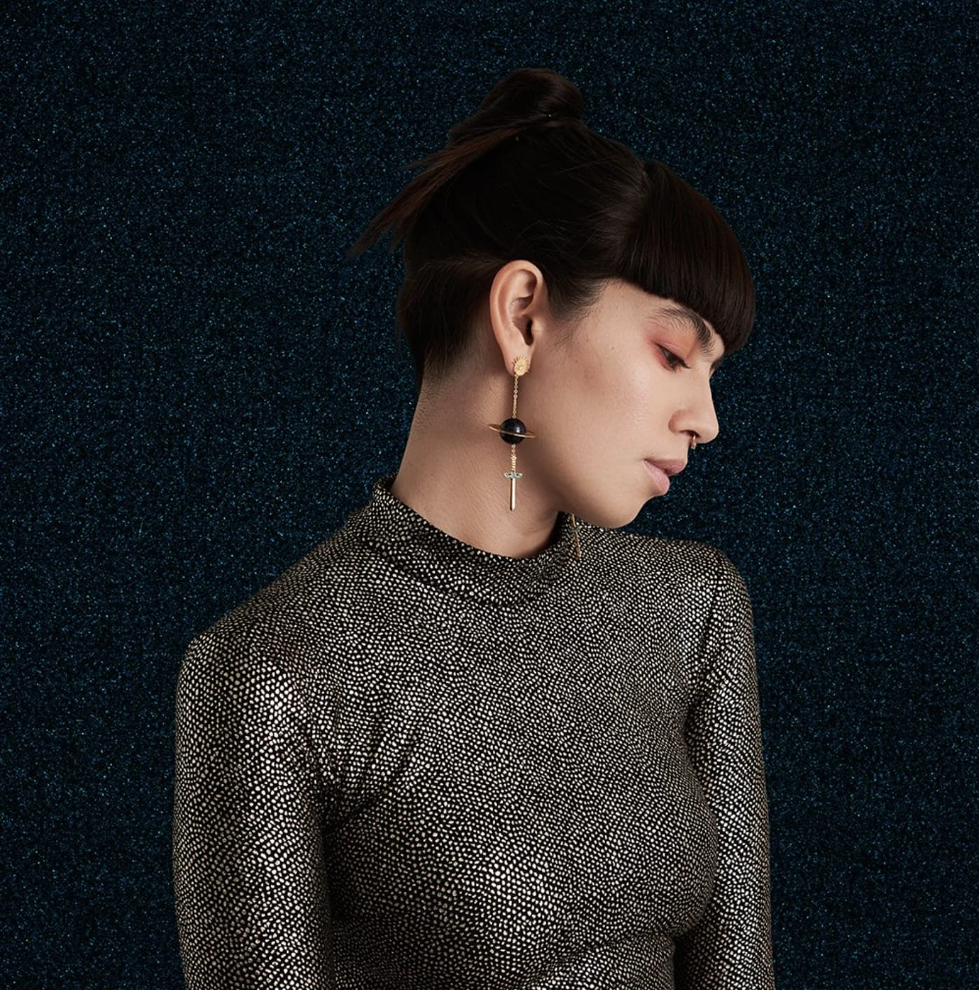 Milk Tooth Precipice Statement Earrings