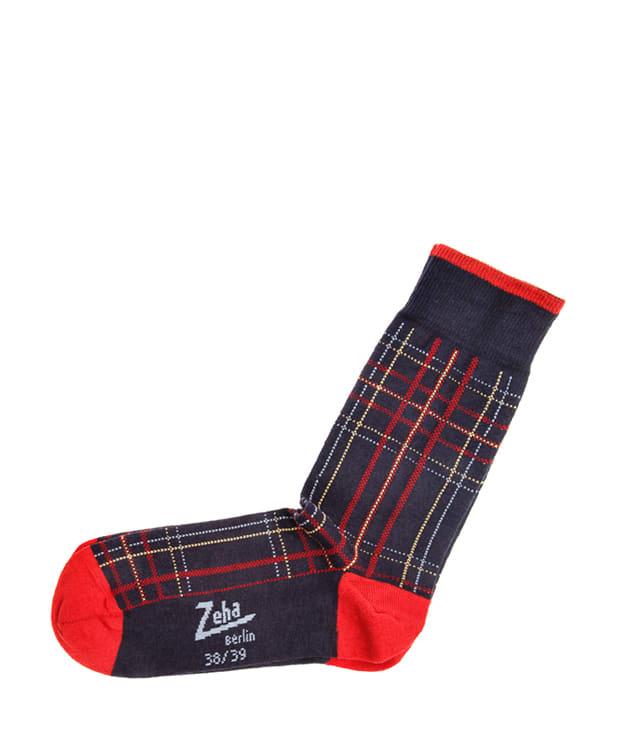 Zeha Berlin Patterned Cotton Wool Mix Socks