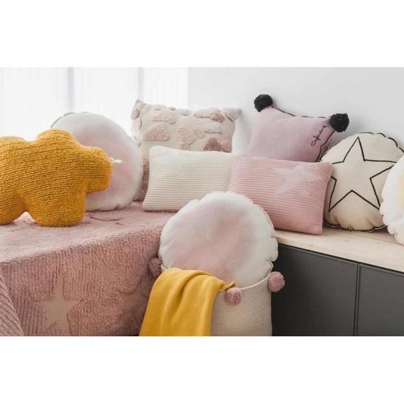 Lorena Canals Mustard Cloud Cushion