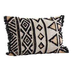 Madam Stoltz Aztec Embroidered Cushion