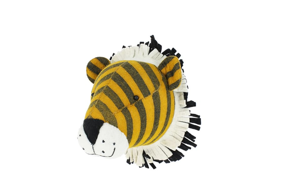 Fiona Walker England Tiger Head Wall Decoration (large)