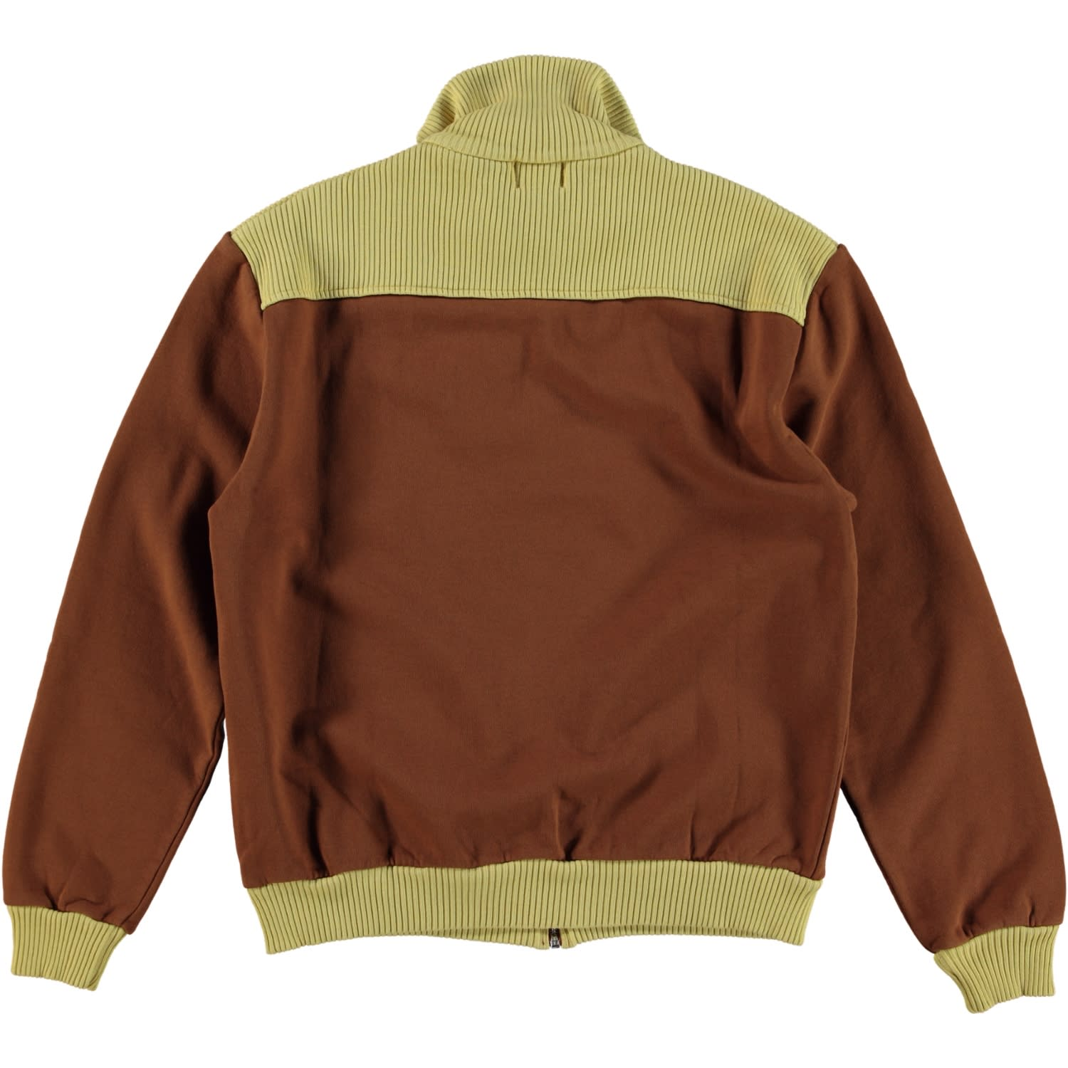 Levi's Brown Tone 1950s Zip Fleece Sweatshirt