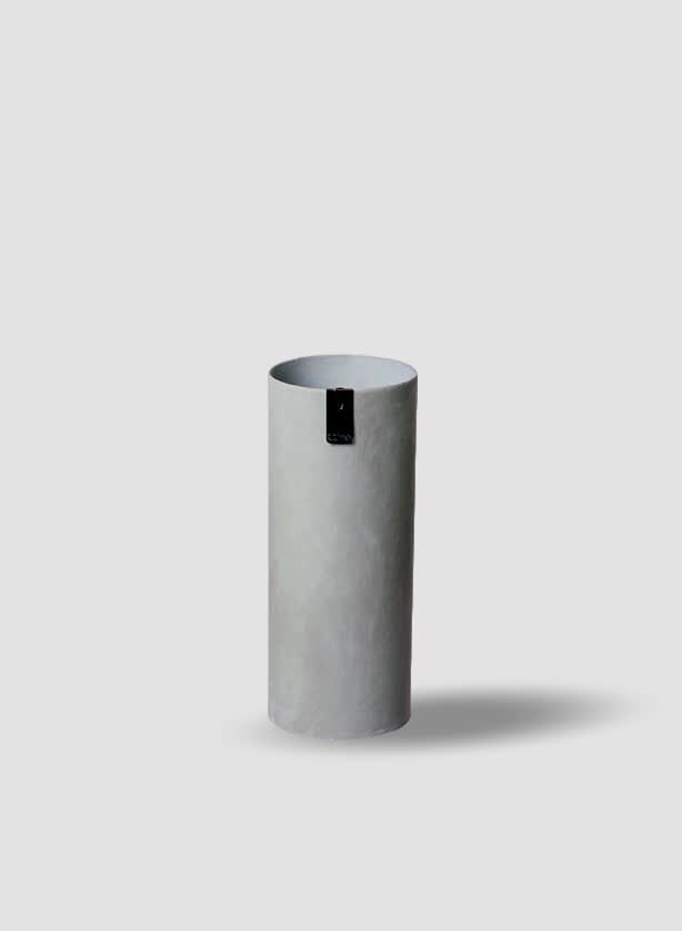 Grey Eco Recycled Paper Vase