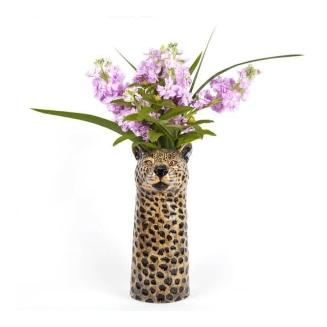 Quail Ceramics Large Leopard Flower Vase