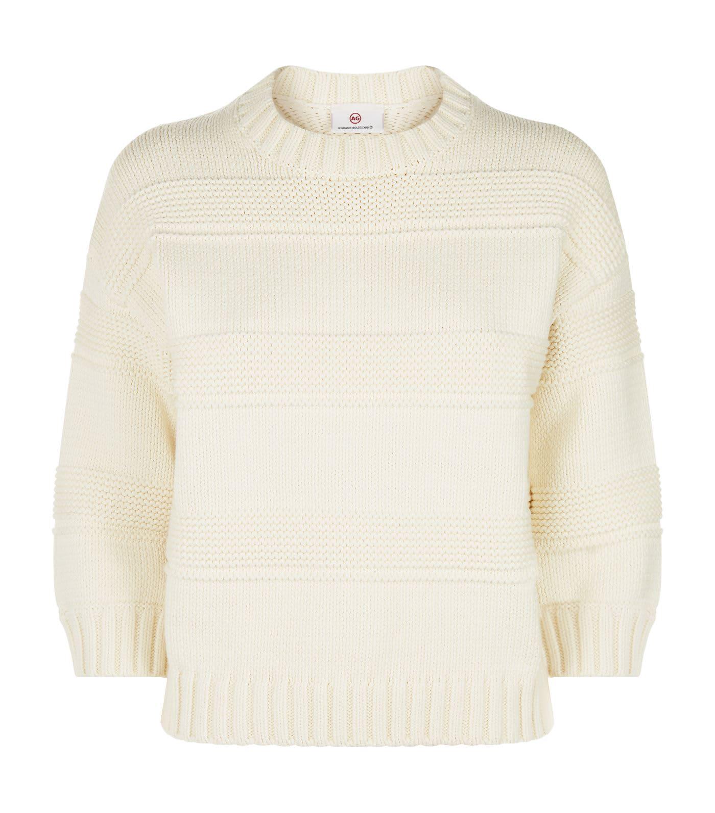 AG Jeans Sabrina Crew Neck Sweater