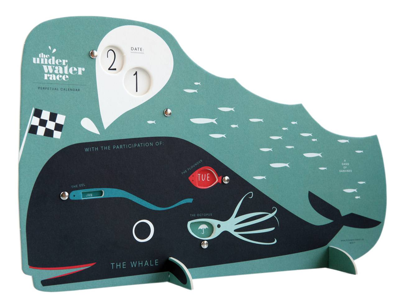 Pleased To Meet The Underwater Race Perpetual Calendar