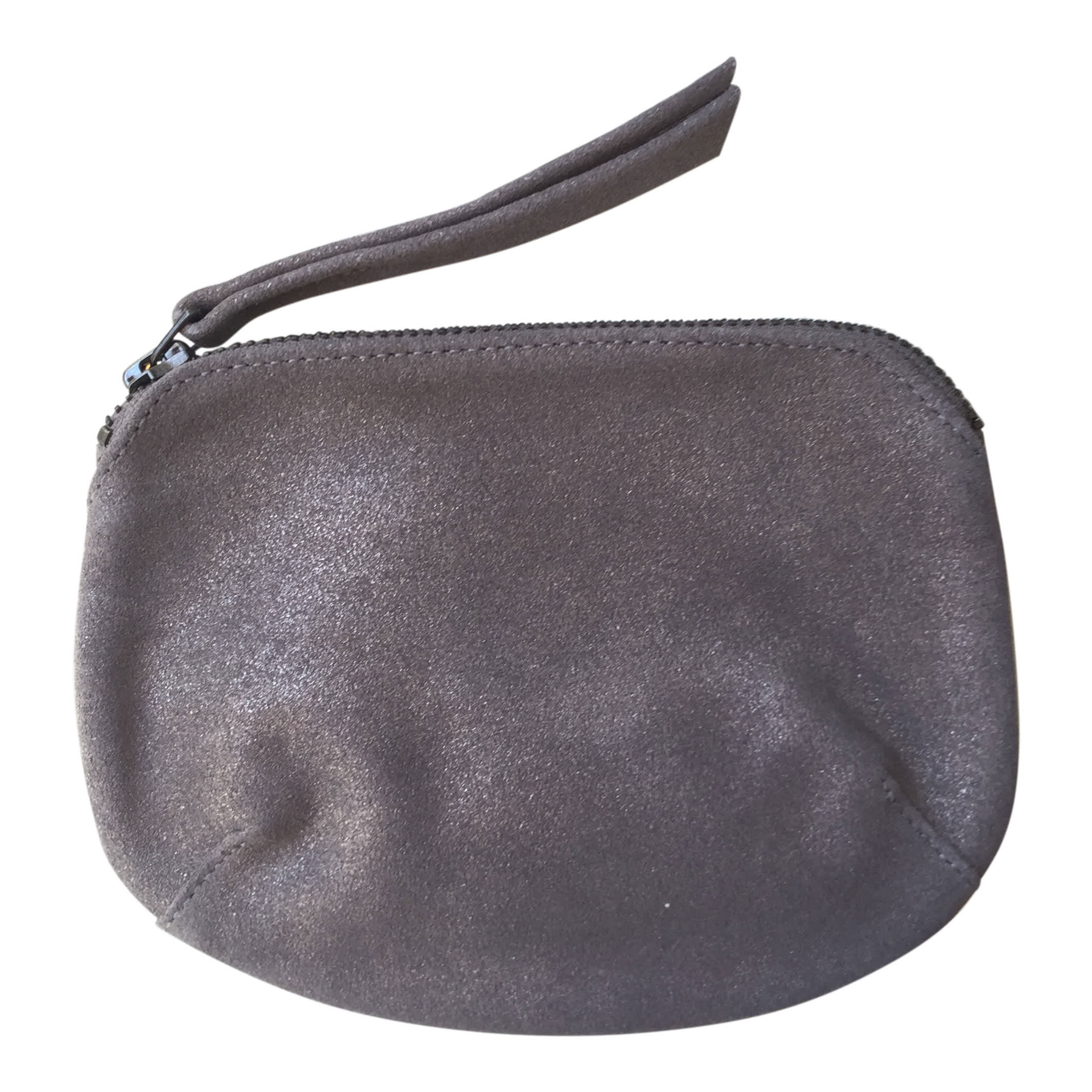 Naterra Soft Leather Pewter Purse