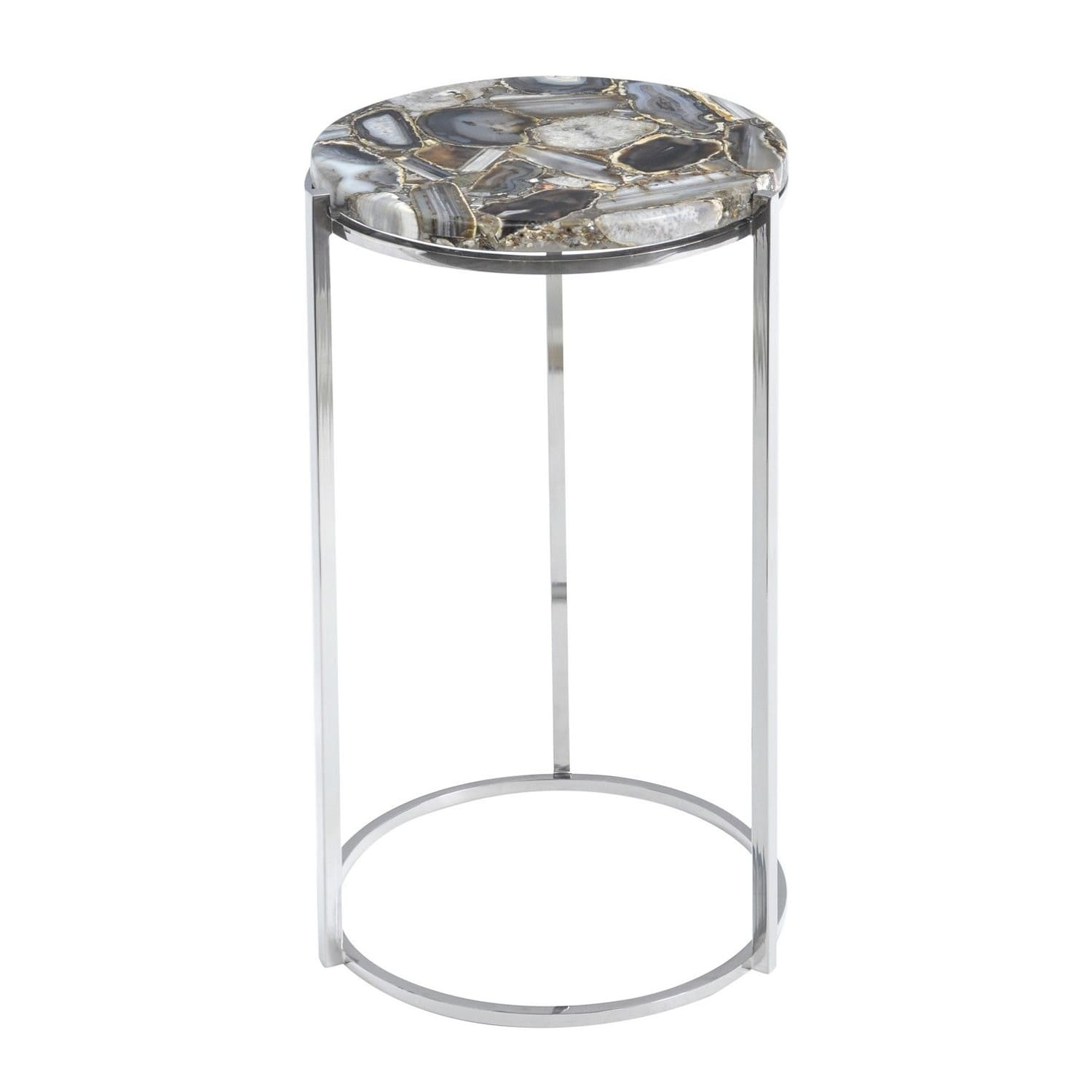 The Libra Company Agate Side Table