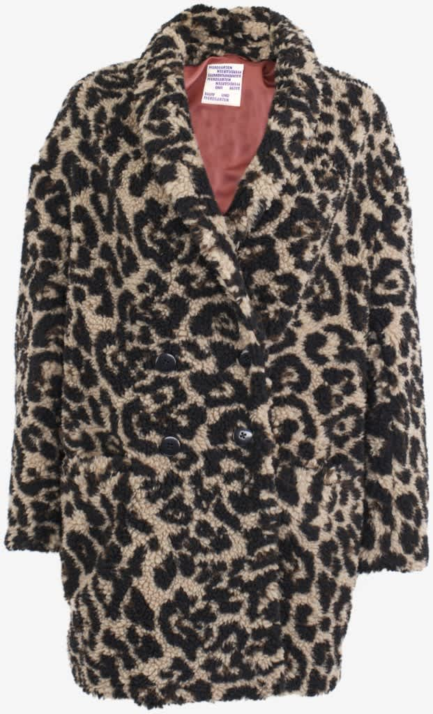 Baum und Pferdgarten Daray Leopard Faux Fur Coat