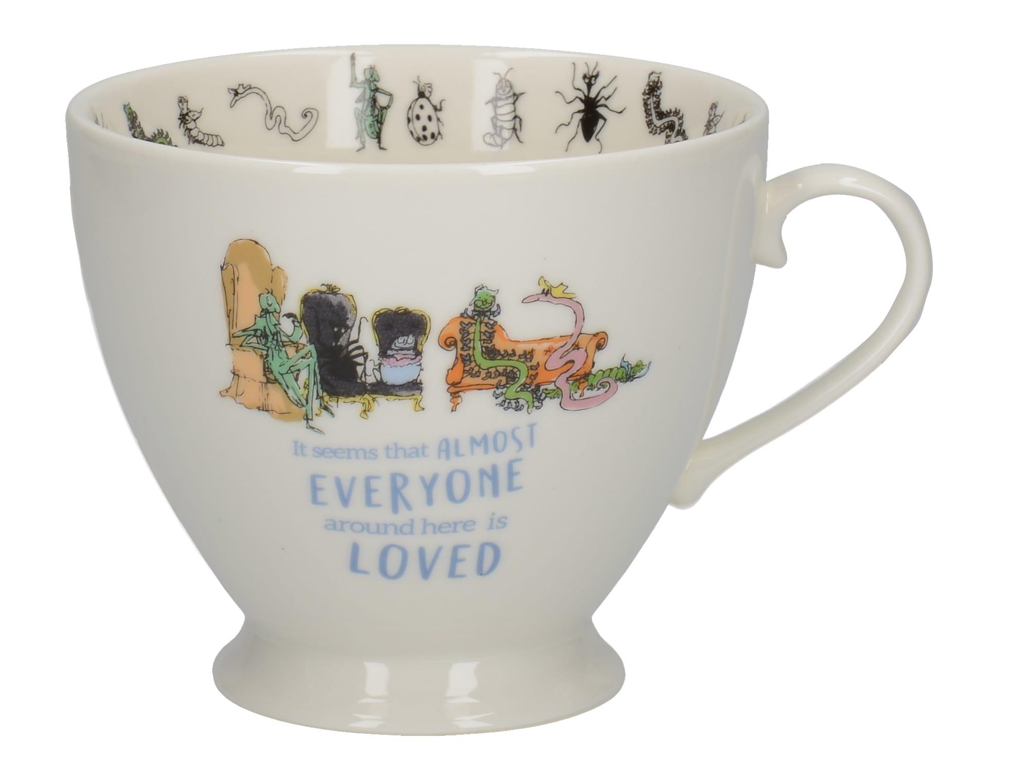Creative tops James Giant Peach Footed Mug
