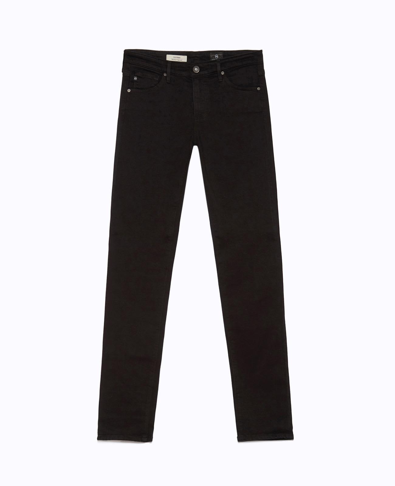 AG Jeans Prima Cigarette Jeans Super Black