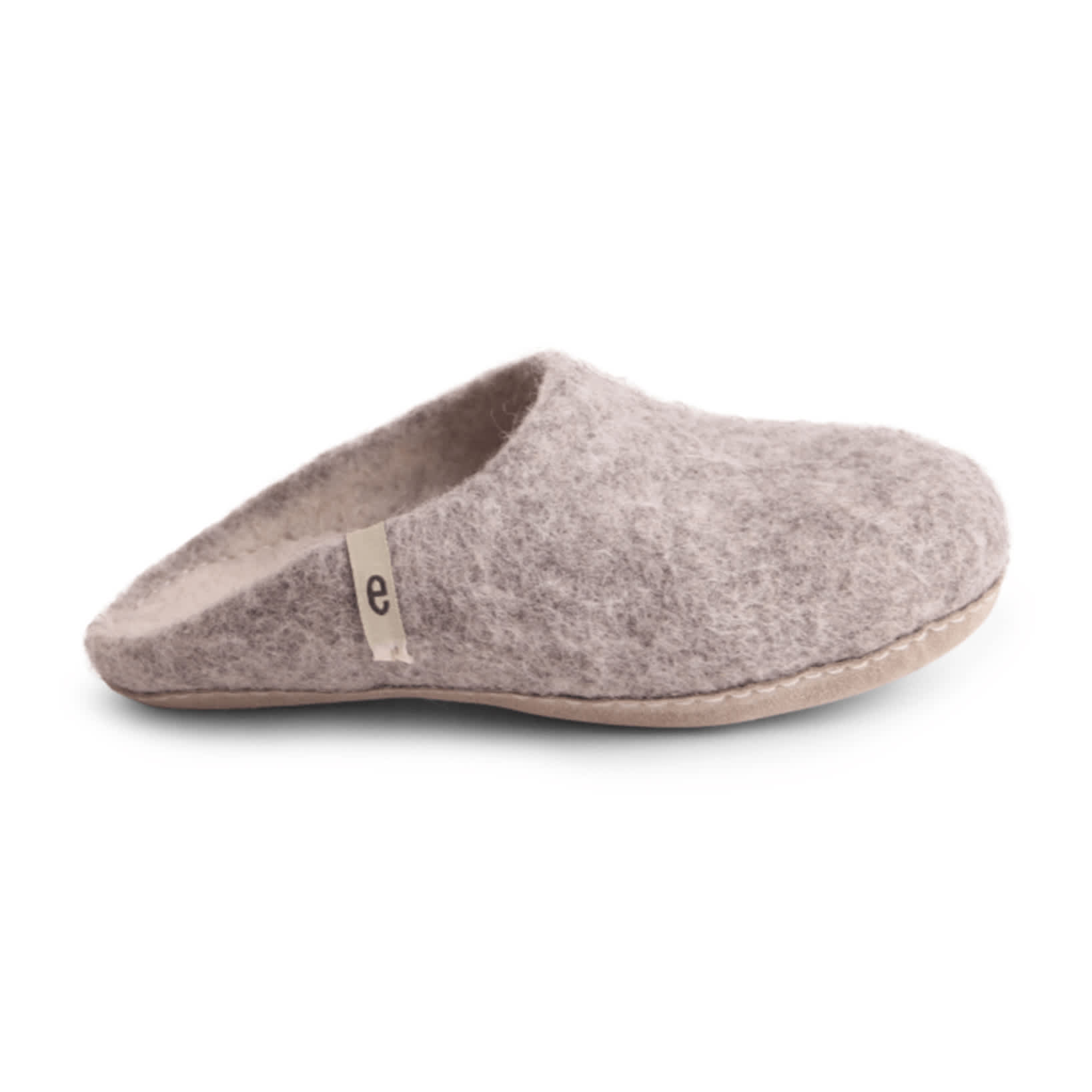 Men's Wool Slippers - Grey