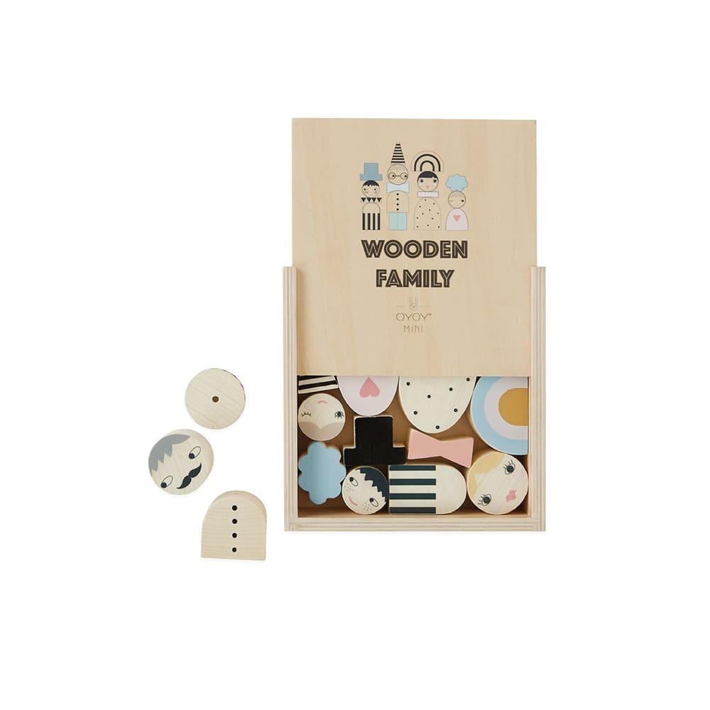 OYOY Wooden Family Bricks