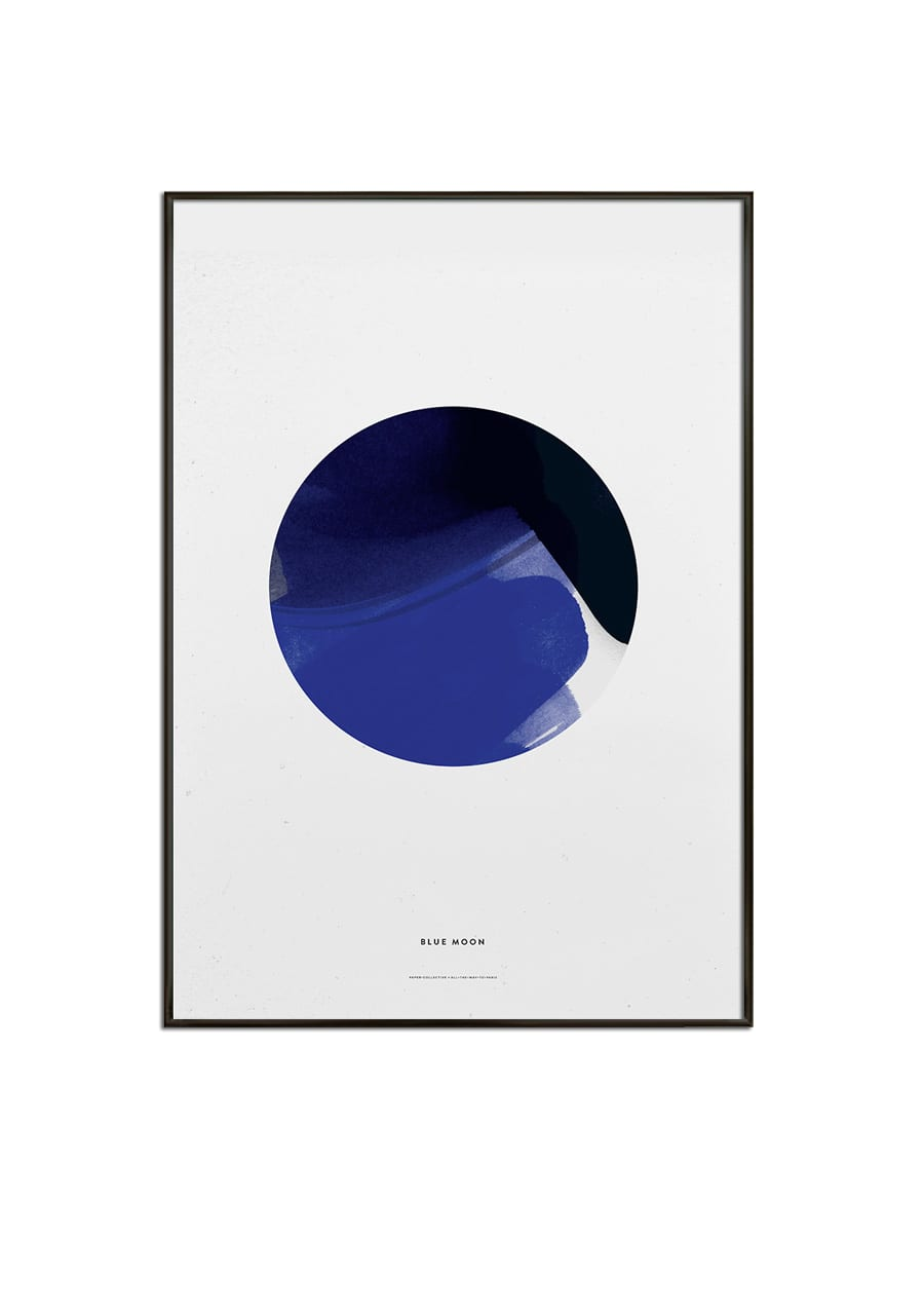All The Way To Paris Blue Moon Poster 30 x 40 CM