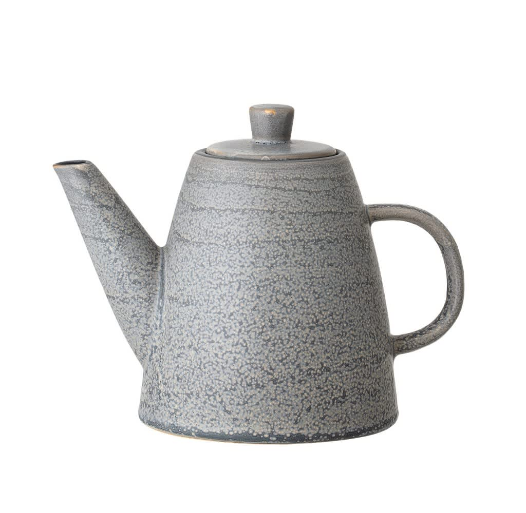 Bloomingville Grey Stoneware Tea Pot