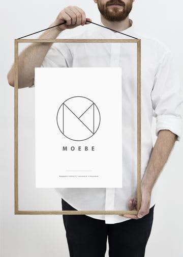 Moebe A2 Oak Frame