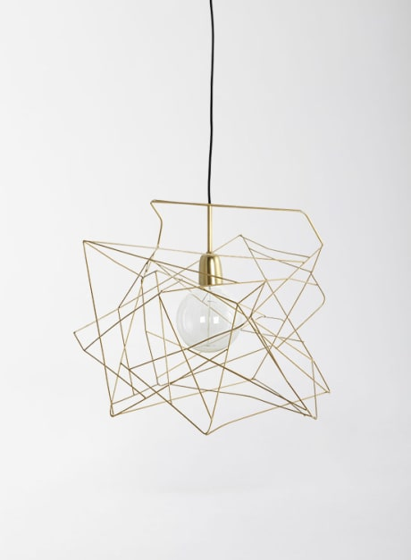 Trouva: Brass Wire Light Shade