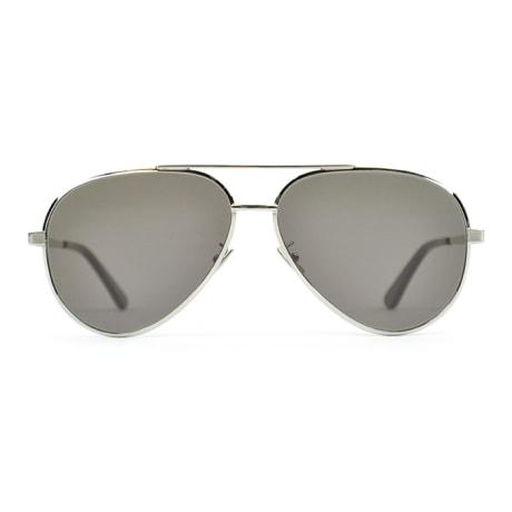 86e05832502 Trouva  Saint Laurent Paris Silver Classic 11 Zero 001 Sunglasses
