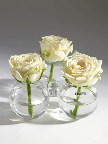 Trouva Glass Trio Ball Vase