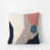 Ferm Living Pink Cream Loop Landscape Cushion