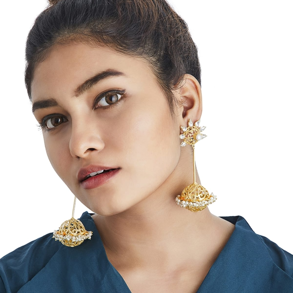 8f52a7c5baad5b Buy a variety of designs of Glacier Designer Earrings Online in India