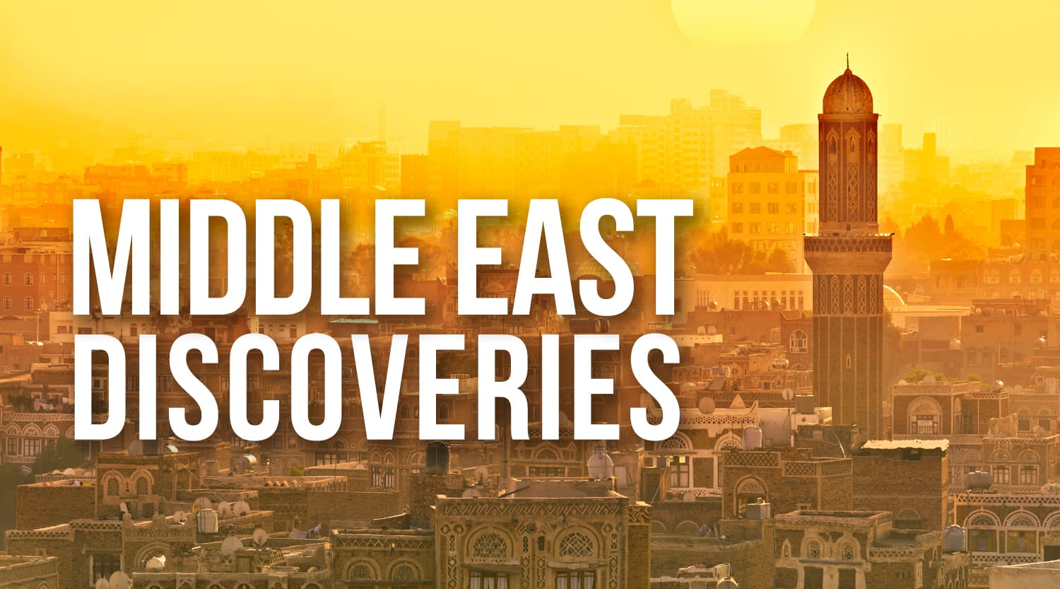 Middle East Discoveries