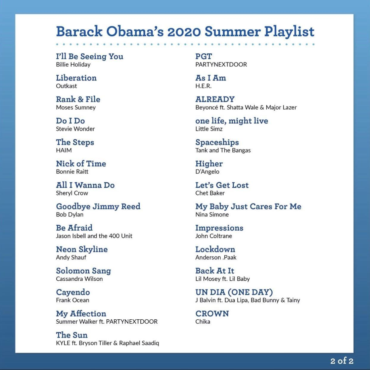 "KYLE's ""The Sun (feat. Bryson Tiller & Raphael Saadiq)"" featured on Obama's Summer 2020 Playlist"