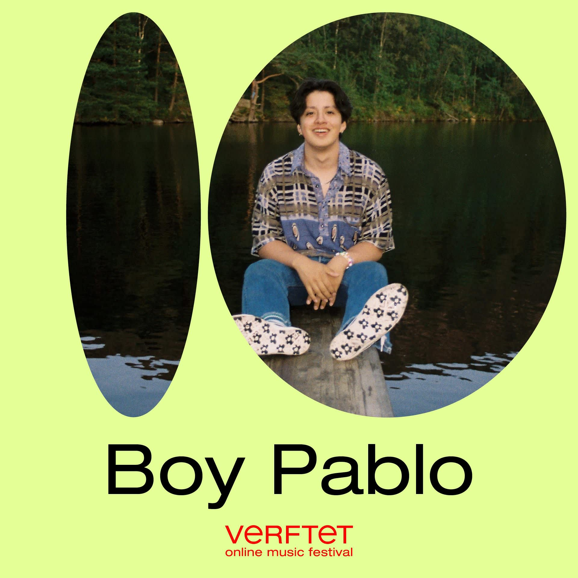 Boy Pablo streaming live at Verftet