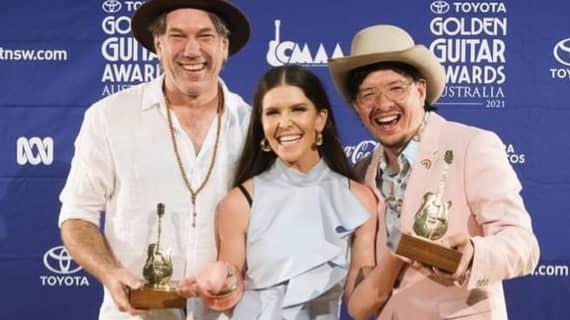 Fanny Lumsdentakes home 5 Golden Guitar Awards