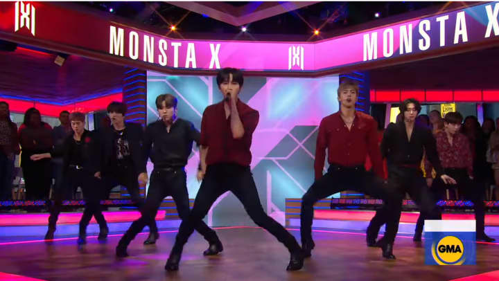 """Who Do U Love"" performed live on GMA"