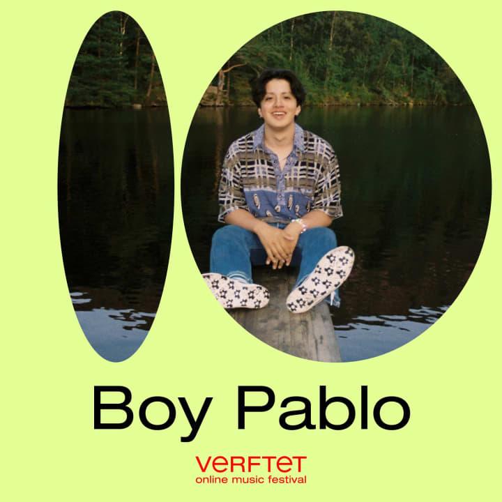 Boy Pablo streaming live at Verftet