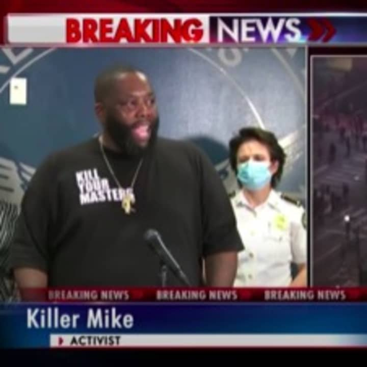 Killer Mike delivers powerful speech to Atlanta protesters