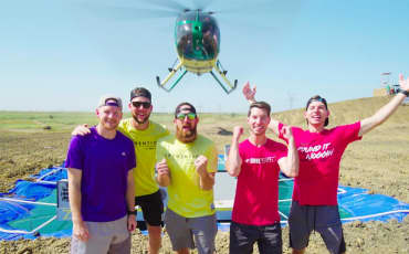 DudePerfect Helicopter Battleship Battle (YouTube)