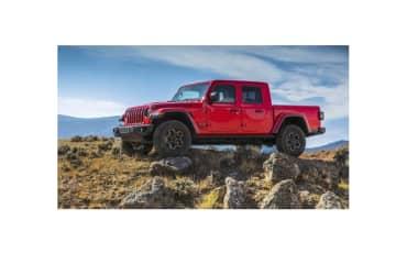 2018 LA Auto Show Jeep Gladiator