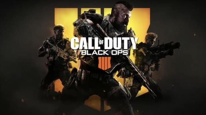 "Call of Duty: Black Ops 4 featuring ""Born For This"" by 7kingZ"