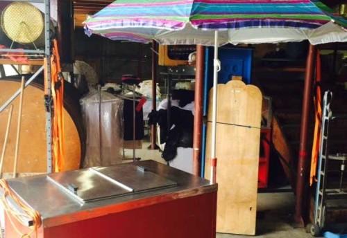 Electric Ice Cream Cart
