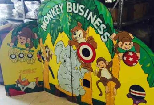 Monkey Business Carnival Game