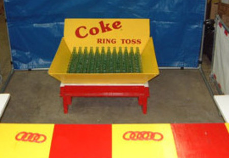 Coke Bottle Carnival Game