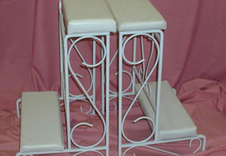 White Twin Set Kneeler