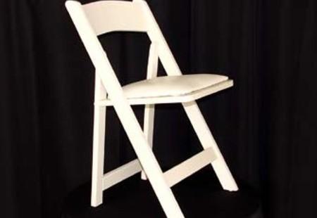 White Wood Garden Chair