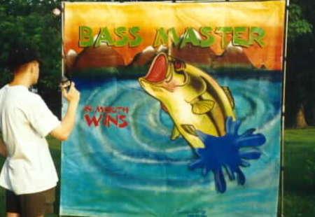 Bass Master Carnival Game