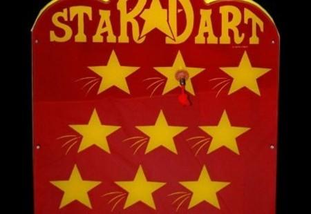 Star Darts Carnival Game