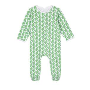 Pyjama Dodi Green monkeys baby