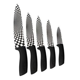 Couteaux en Céramique Manche Noir
