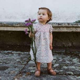 Robe Camilla pour Fille Rose Poudré - PS