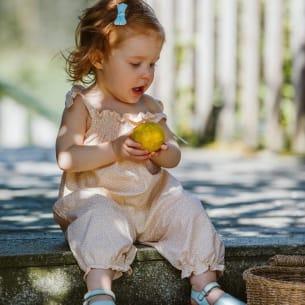 Amelia Combinaison Florale Bébé Fille - Coton - PS