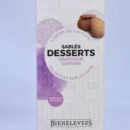 Buckwheat Saffron Dessert Biscuits