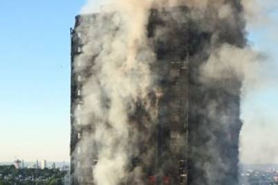 Grenfell tower fire morning 300x202