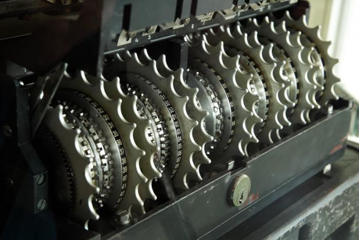 The Lorenz SZ42 machine was a <a href=